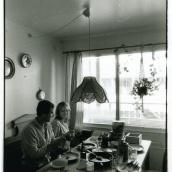 Fotokonstnär, Fotograf: Ava Valsten, Far och dotter