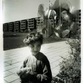 Fotokonstnär, Fotograf: Ava Valsten, Flickan med maskrosorna