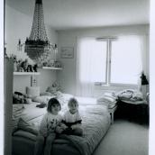 Fotokonstnär, Fotograf: Ava Valsten, Sovrummet efter skilsmässan