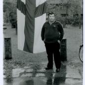 Fotokonstnär, Fotograf: Ava Valsten, Mannen i parken