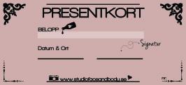 PRESENTKORT - 250-500SEK - SUMMA