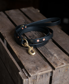 Dog leash black