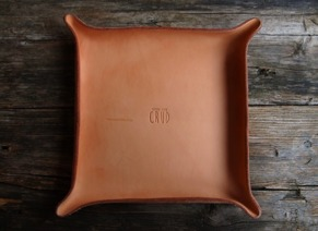 Leather Tray -