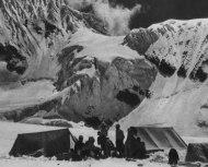 Basläger II, Maurice Herzog expeditionen 1950. Foto Marcel Ichac.