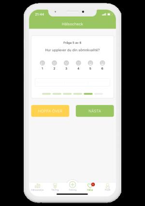 hälsocheck app