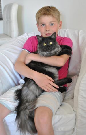 9 månader med lillhusse Maximilian