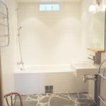 Badrummet vid relaxavdelningen