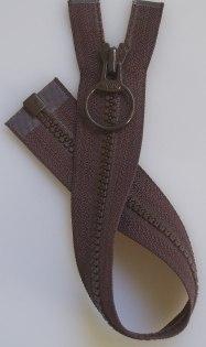 Jacklås med ring brun