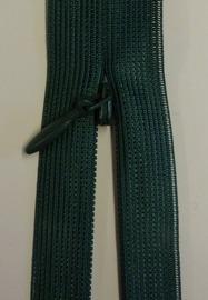 Osynligt klänningslås grön