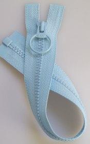 Jacklås med ring ljusblå