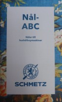 NYTT  SVENSKT NÅL ABC