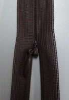 Osynligt klänningslås brun