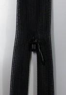 Osynligt klänningslås svart