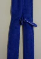 Osynligt klänningslås kornblå