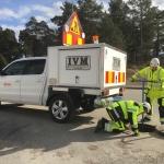 IVM sköter underhåll och driften av nätet för fjärrvärme och fjärrkylan åt Eon i norra Stockholm.