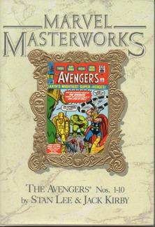 AVENGERS #1-#10 MARVEL MASTERWORKS HC