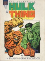 Incredible Hulk and the Thing The Big Change GN (1987 Marvel)