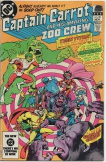 Captain Carrot (1982) #20