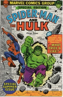 Amazing Spider-Man and the Incredible Hulk Chicago Tribune Giveaway (1980) #1