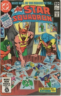 All Star Squadron (1981) #1