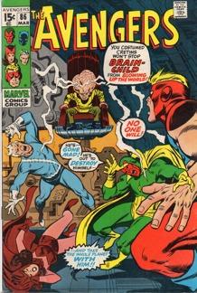 Avengers (1963 1st Series) #086