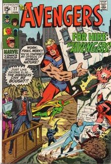 Avengers (1963 1st Series) #077
