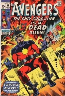 Avengers (1963 1st Series) #089