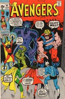 Avengers (1963 1st Series) #091