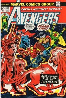 Avengers (1963 1st Series) #112 1st app. Mantis