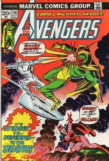 Avengers (1963 1st Series) #116