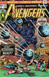 Avengers (1963 1st Series) #137