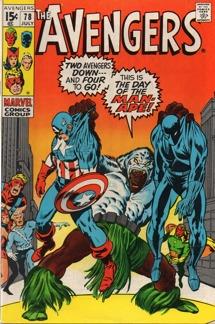Avengers (1963 1st Series) #078