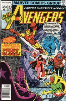 Avengers (1963 1st Series) #168