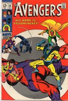 Avengers (1963 1st Series) #059 1st app. Yellowjacket