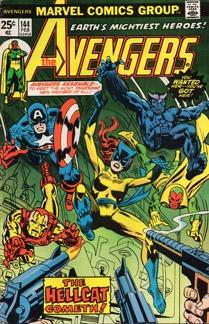 Avengers (1963 1st Series) #144 1st app. Hellcat