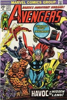 Avengers (1963 1st Series) #127