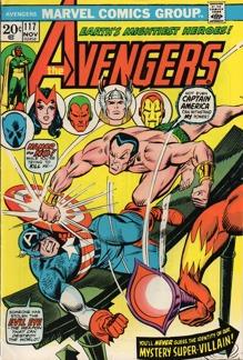 Avengers (1963 1st Series) #117
