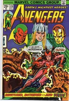 Avengers (1963 1st Series) #128