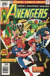 Avengers (1963 1st Series) #150
