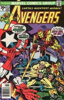 Avengers (1963 1st Series) #153