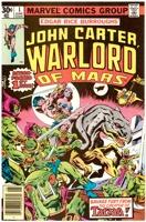 John Carter Warlord of Mars (1977 Marvel) #01