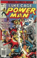 Power Man and Iron Fist (1972 Hero for Hire) #39