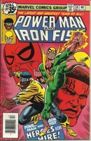 Power Man and Iron Fist (1972 Hero for Hire) #54