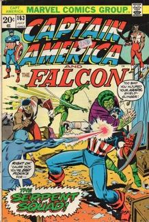 Captain America (1968 1st Series) #163
