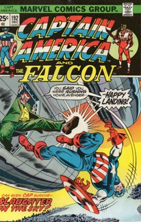 Captain America (1968 1st Series) #192