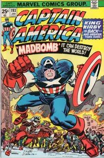 Captain America (1968 1st Series) #193