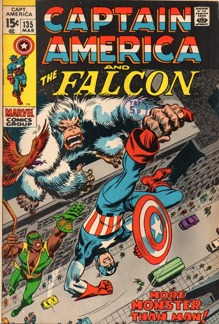 Captain America (1968 1st Series) #135