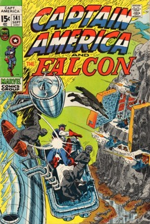 Captain America (1968 1st Series) #141
