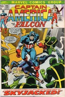 Captain America (1968 1st Series) #145