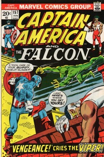 Captain America (1968 1st Series) #157